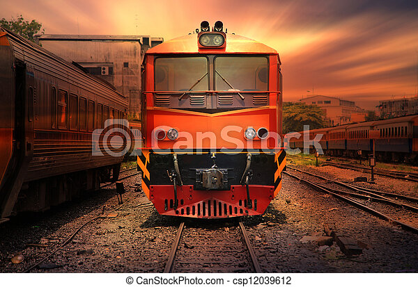 列車 - csp12039612