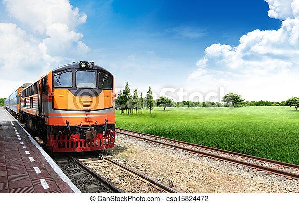 列車 - csp15824472