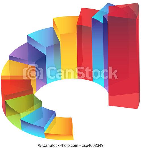 列, 走, 透明度, 楼梯, 图表 - csp4602349