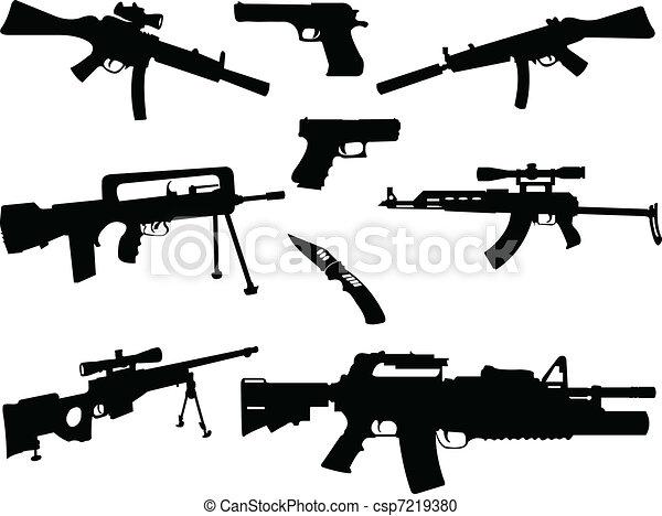 別, コレクション, 武器 - csp7219380