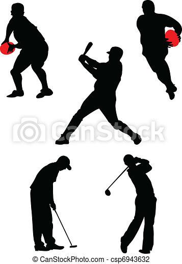 別, スポーツ, コレクション - csp6943632