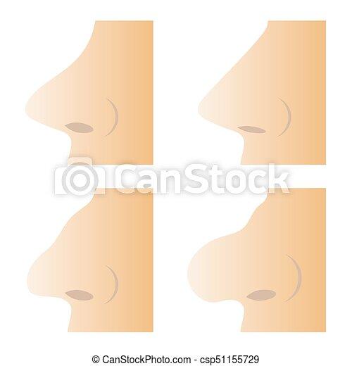 別, セット, 鼻, 人間 - csp51155729