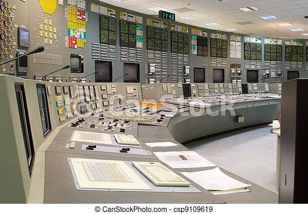 制御, 植物, 部屋, 世代に電力を供給しなさい, 核, ロシア人 - csp9109619