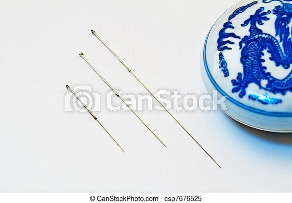 刺鍼術の 針 - csp7676525