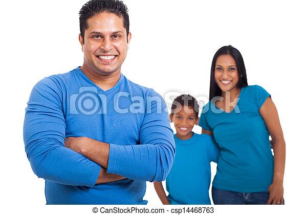 前部, 父, 家族 - csp14468763