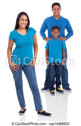 前部, indian, 家族, 母 - csp14468823