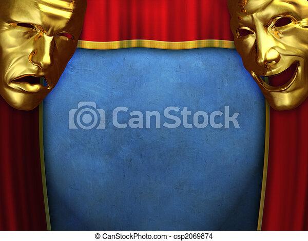 劇場, ショー - csp2069874