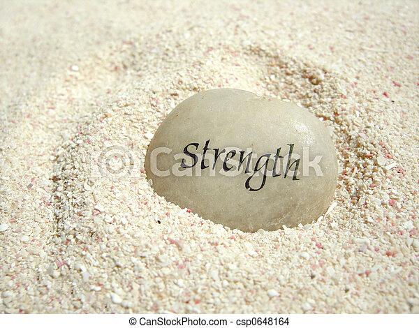 力量, 石頭 - csp0648164