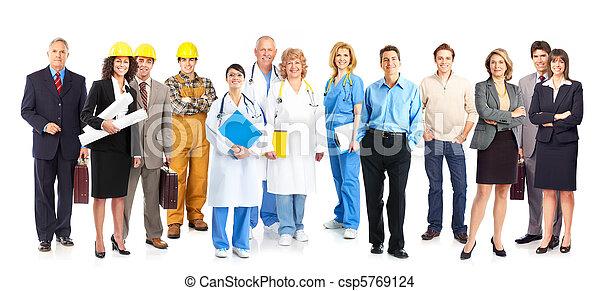 労働者, 人々 - csp5769124