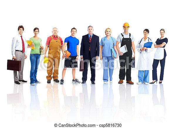 労働者, 人々 - csp5816730