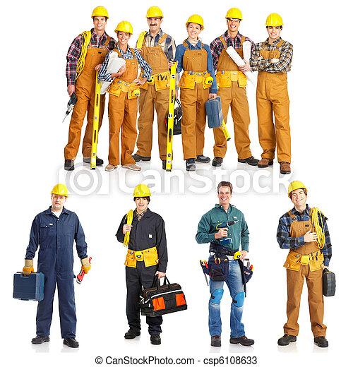 労働者, 人々 - csp6108633