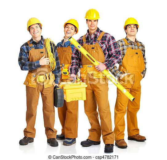 労働者, 人々 - csp4782171