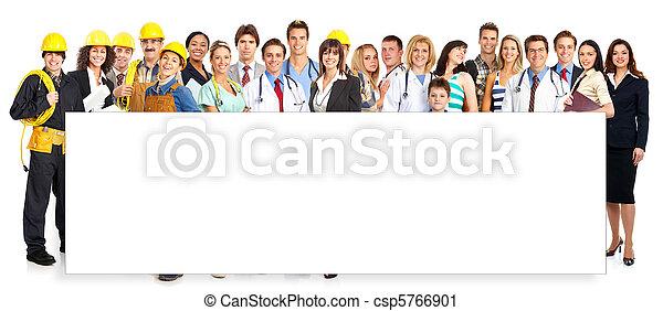 労働者, 人々 - csp5766901