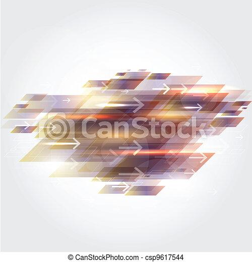 動き, 抽象的, 背景 - csp9617544