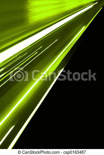 動き, 緑 - csp0163487