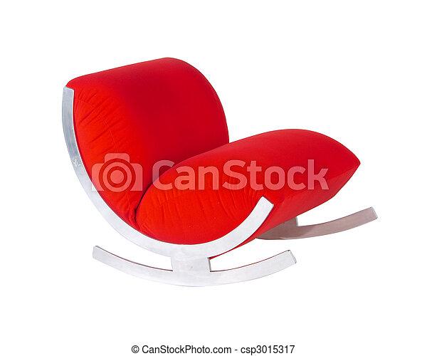 動揺, 現代, 中央の, 椅子, 世紀 - csp3015317
