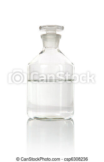 医学, アルコール, びん - csp6308236