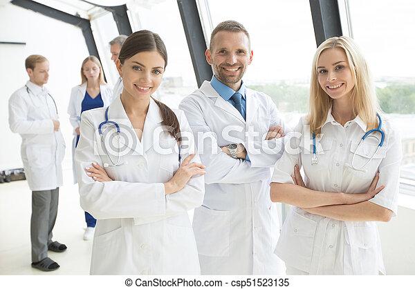 医学, グループ, 医者 - csp51523135