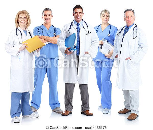 医学, グループ, 医者。 - csp14186176