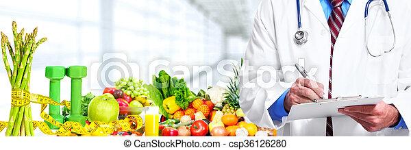 医学, 医者。, 手 - csp36126280