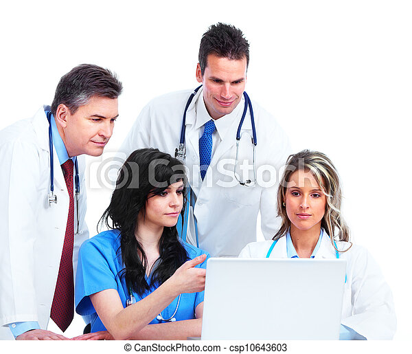 医学, group., 医者 - csp10643603