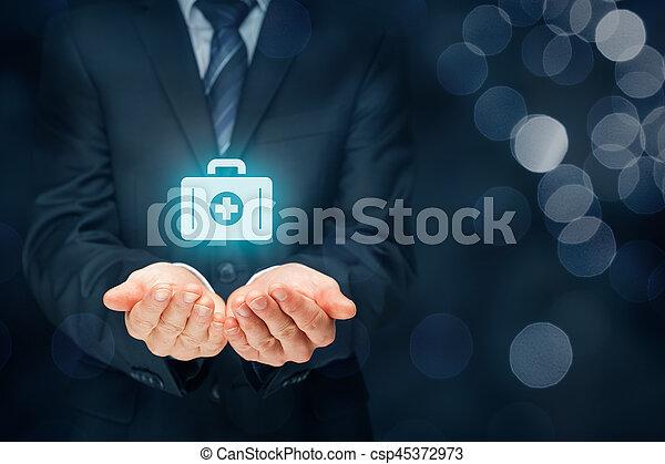 医療保険 - csp45372973