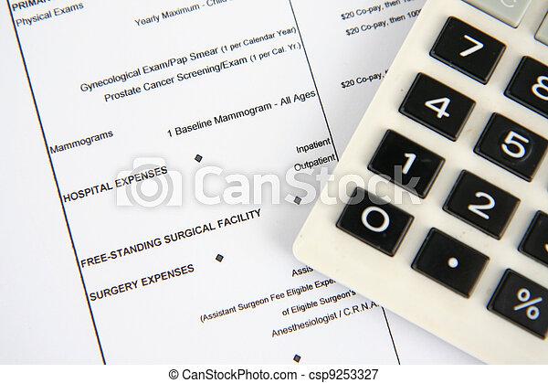 医療保険 - csp9253327