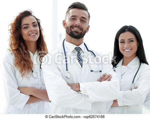 医者, group., 隔離された, 医学, バックグラウンド。, 白 - csp62574168