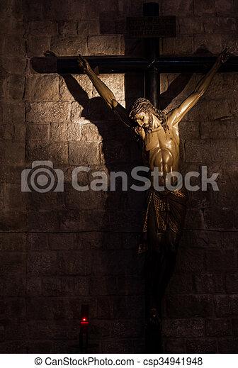 十字架像 - csp34941948