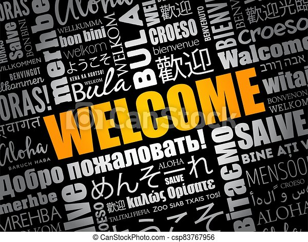 単語, 言語, 別, 雲, 歓迎 - csp83767956