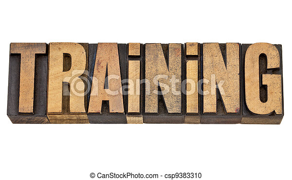 単語, 訓練, タイプ, 凸版印刷 - csp9383310