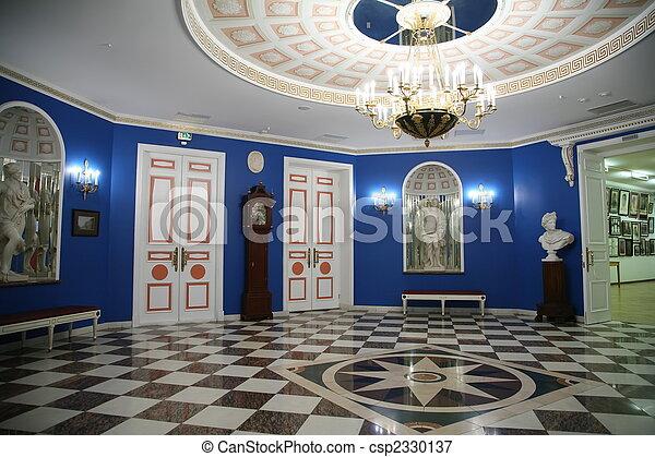 博物館, ホール - csp2330137