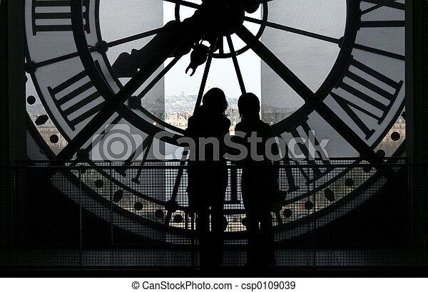 @, 博物館, orsay, 鐘 - csp0109039