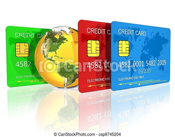卡片, 信用 - csp9745204
