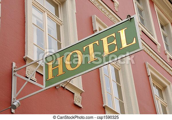 印, ホテル - csp1590325