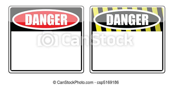 危険の印, ブランク - csp5169186