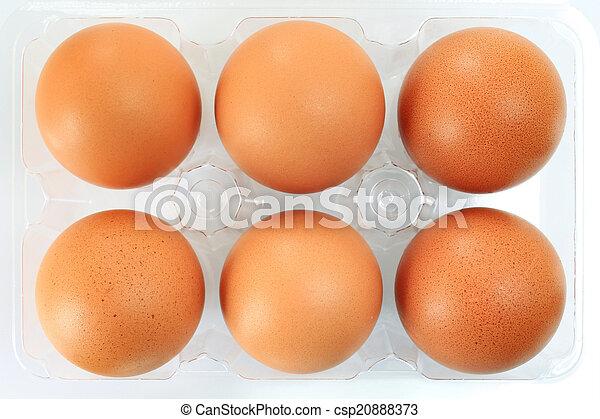 卵, パックされた - csp20888373