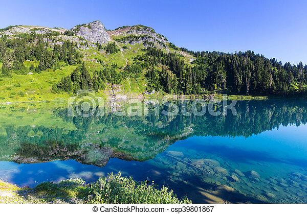 双生子, 湖 - csp39801867