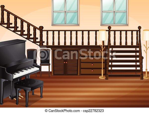 反響室. 暮らし, ピアノ, 部屋, ...
