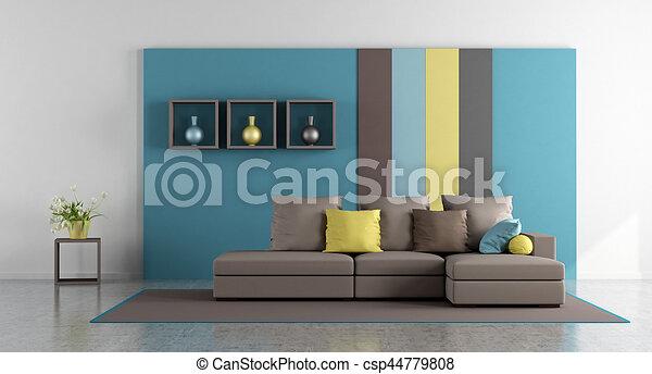 反響室, カラフルである - csp44779808