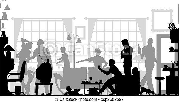 収集, 家族 - csp2682597
