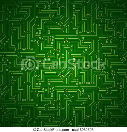 发光, 板, 电路, 打印 - csp18060603