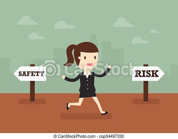 取得, 危険 - csp34497330