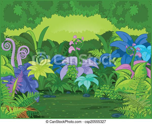 叢林, 風景 - csp20555327
