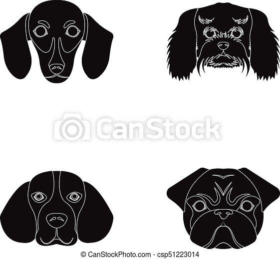 口輪 別 品種 セット Dogsdog アイコン ビーグル犬 Lapdog パグ