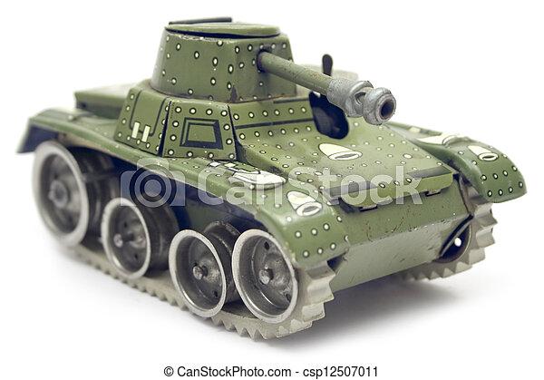 古いおもちゃ, タンク - csp12507011