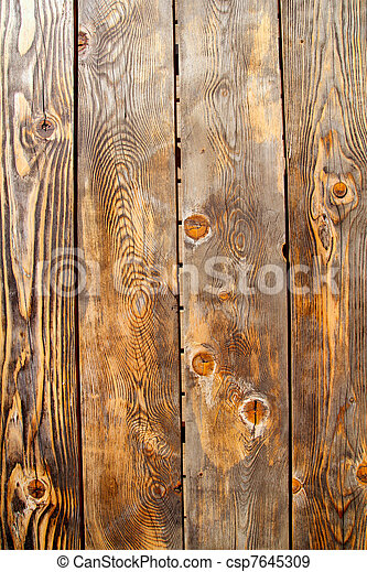 古い, マツ木, 手ざわり, グランジ, 年を取った - csp7645309