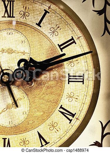 古い, 時計 - csp1488974