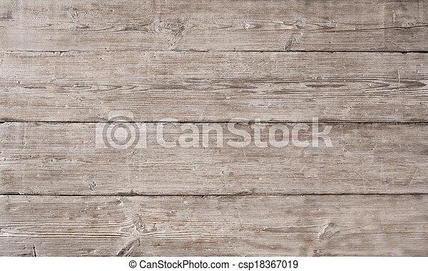 古い, 木製である, ライト, 木穀粒, 板, 背景, 繊維, しまのある, 板, 手ざわり - csp18367019