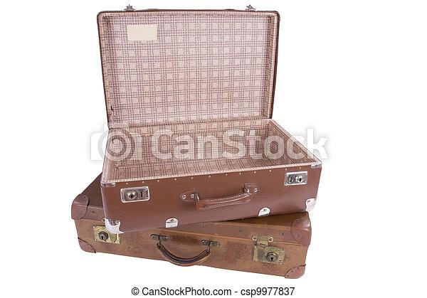 古い, 2, スーツケース - csp9977837